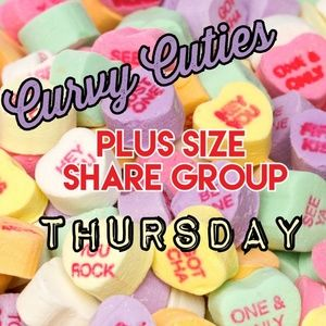 Tops - 2/7 (CLOSED) PLUS SHARE GROUP: Curvy Cuties